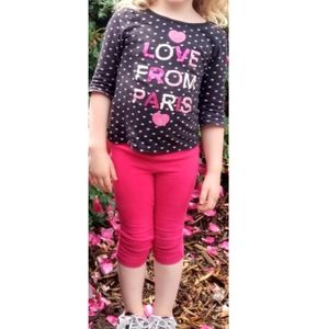 Gap Kids Love From Paris Outfit Size XS 4/5